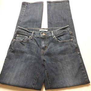 Levi's 505 Straight Leg Blue Jeans Size 28